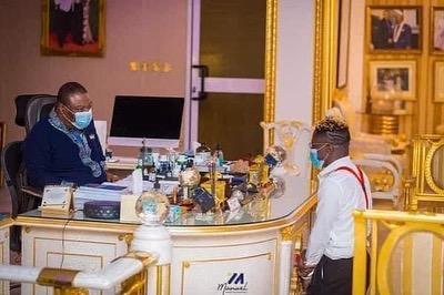 Archbishop Duncan Williams Prays For Dancehall Star, Shatta Wale; Photos Hit Online